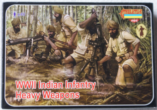 Strelets 1/72 STM129 Indian Infantry Heavy Weapons (WW2)